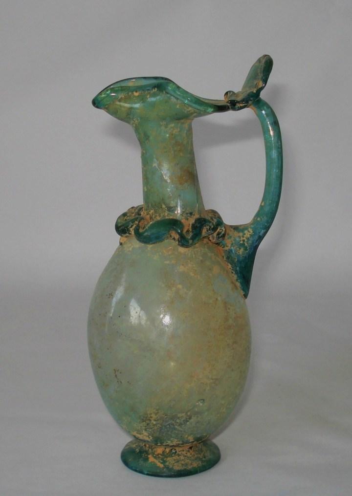 Roman Glass Oinochoe