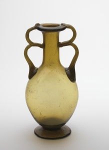 TWIN-LOOPED HANDLE BOTTLE from Egypt, Karanis