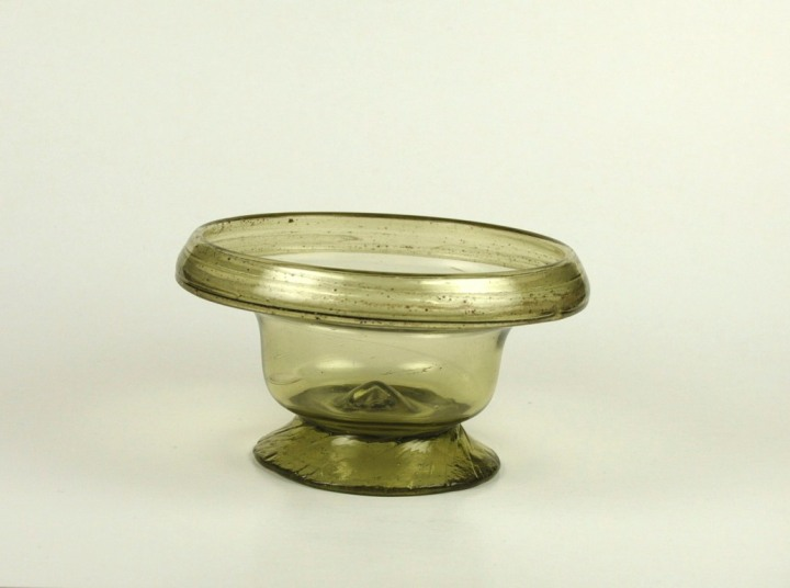 66R Egyptian Glass Bowl from Karanis' 5-6th Century