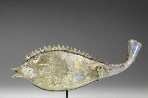 ROMAN FISH FLASK nfb 278