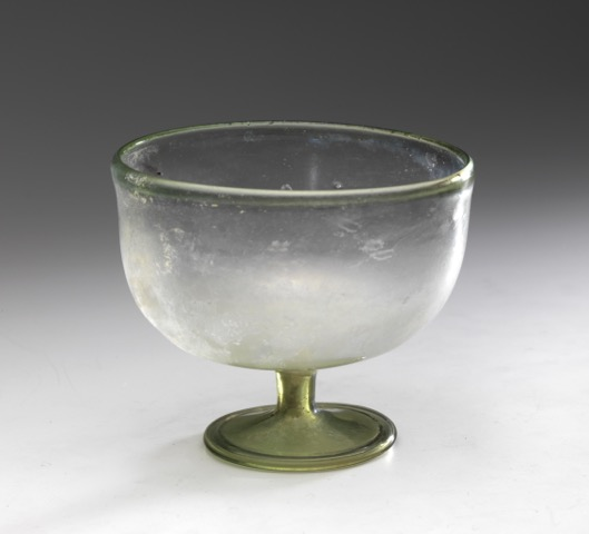 Roman drinking glass poto by Tom Haartsen