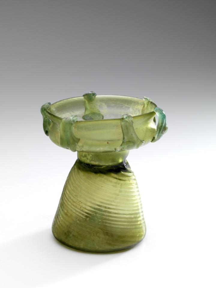 PATTERN-BLOWN ROMAN GLASS SPRINKLER