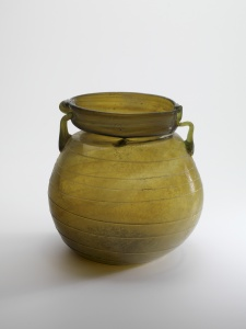 TWIN-HANDLED ROMAN JAR