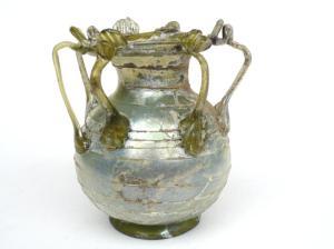 LATE ROMAN MULTI-HANDLED JAR