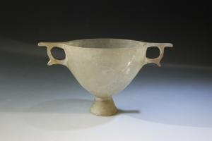 Hellenistic cast glass Kantharos