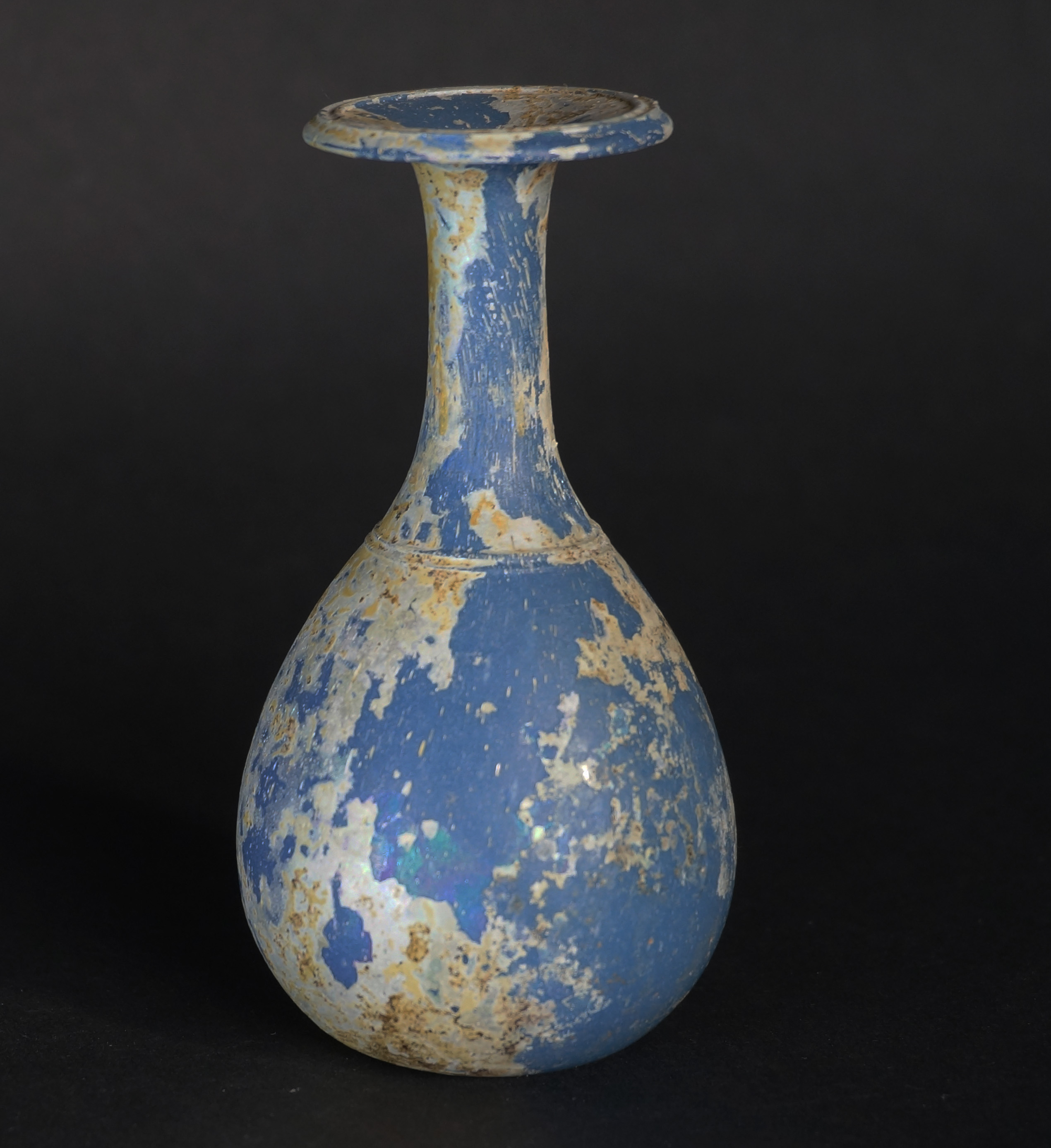 Opaque blue roman glass bud vase ancient glass blog of the opaque blue roman glass bud vase reviewsmspy