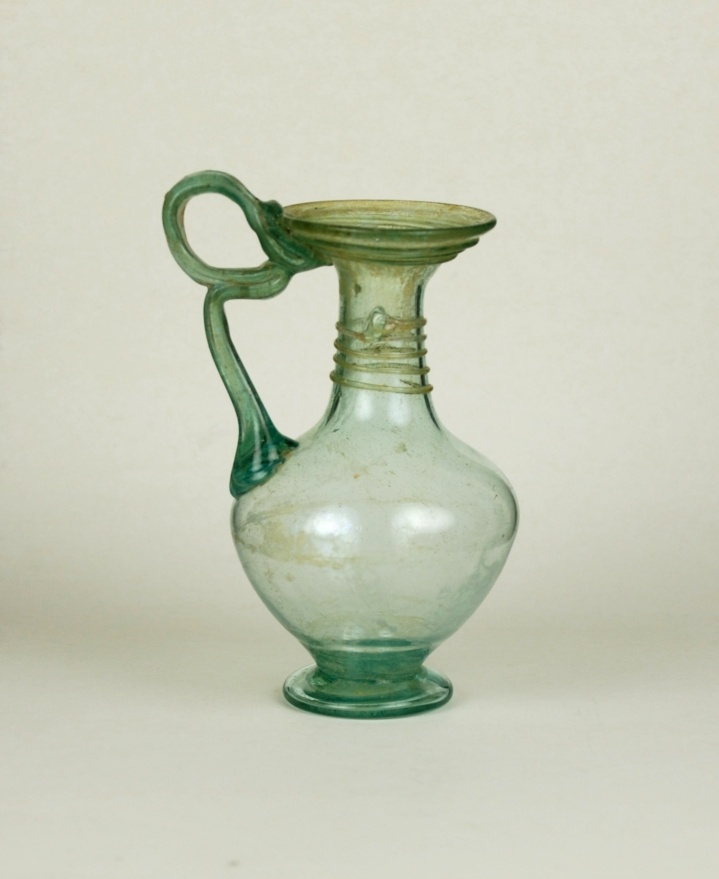 69R Roman Jug with Loop Handle