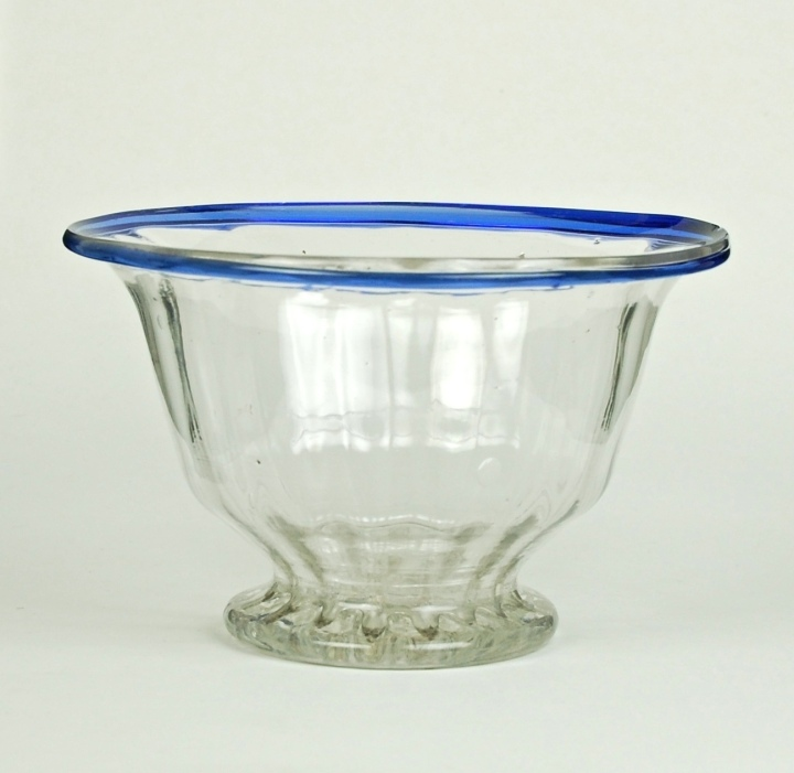 24E Paneled Bowl, English