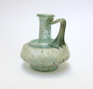 roman-glass-juglet-with-shoulder-ridge