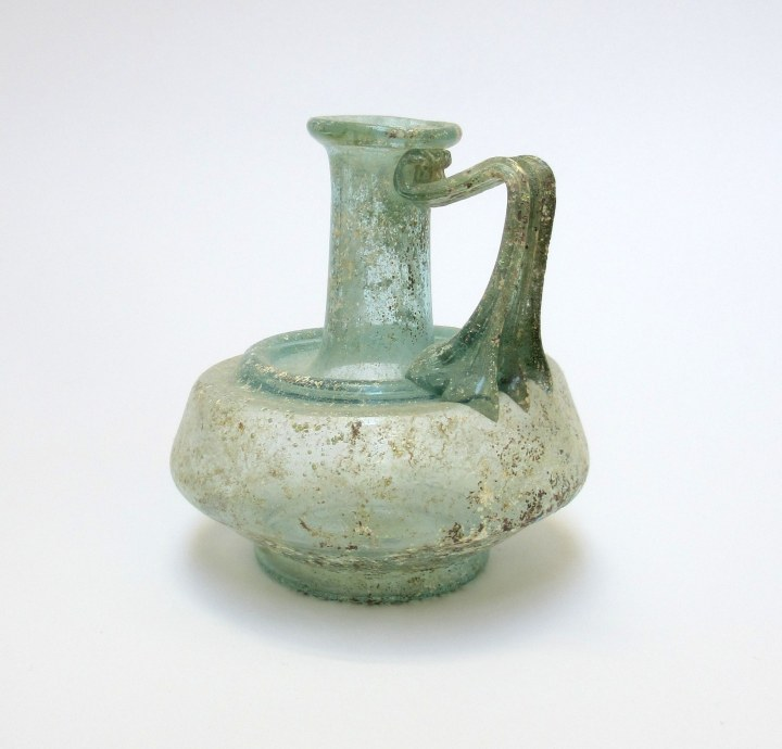roman-glass-juglet-with-shoulder-ridge