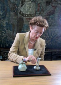 Drs. M. Zilverberg, expert on Roman Glass, Netherlands