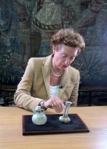 Drs. M. Zilverberg, expert on Roman Glass, Netherlands