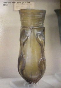 Maldstone claw beaker